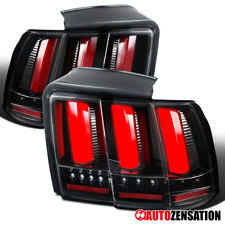 99 04 mustang sequential tail light kit sequential led tail lights ebay