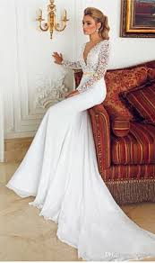 Fitted Wedding Dresses Long Sleeve Wedding Dresses By Berta Bridal Deep V Neck Lace