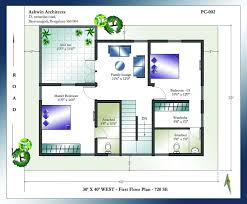 interior layout for south facing plot house plan vastu house plans north facing images bedroom as per sq