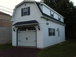 check out this 2 story single car garage i wonder if i can put