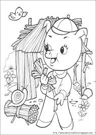 pigs coloring educational fun kids coloring
