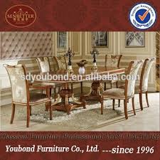 0062 european classic dining room furniture high end wood dining