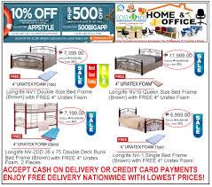 bed frame sale lazada friday promo take 10 off on lifestyle