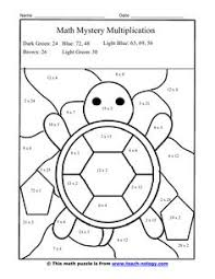 2 winter themed printable multiplication worksheets polar bear