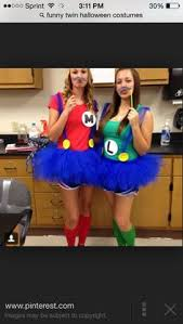 Mario Halloween Costumes Girls Cute Friend Mario Luigi Halloween Costumes