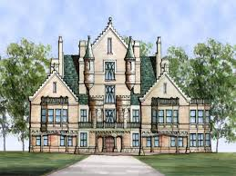 Castle Style Homes by Plan House Plans Castle Style