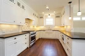 Mini Subway Tile Kitchen Backsplash by Mini White Subway Tile Backsplash Traditional Kitchen Marie