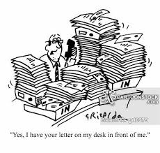 desk covered cartoons and comics funny pictures from cartoonstock