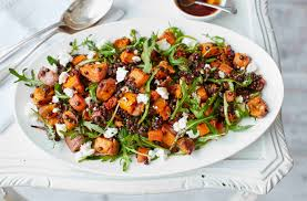 sweet potato lentil and feta salad tesco real food