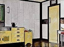 Art Deco Kitchen Design by Art Deco Kitchens From The 1930 Kitchen Design 1930s On Original