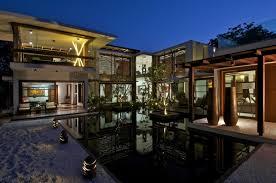 luxury trendy interior courtyard house plans plus houses design