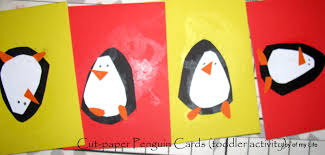 the joy of my life and other things kids craft easy paper penguins