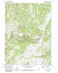 Bear Lake Utah Map by Boulder Mountain Topographic Map Ut Usgs Topo Quad 41111f5