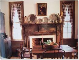 country style home decorating ideas country style with primitive curtains for living room home decor