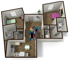 2 Bedroom Apartments In Bloomington Il by 2 Bedroom 2 Bath Student Apartment Near Isu The Edge