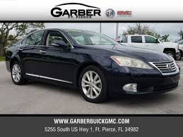 2010 lexus es 350 price pre owned 2010 lexus es 350 for sale in ft fl at garber