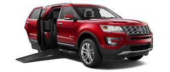 wheelchair accessible ford explorer consumer reports
