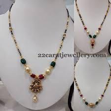 gold black bead necklace images Simple black beads necklaces bead necklaces beads and black jpg