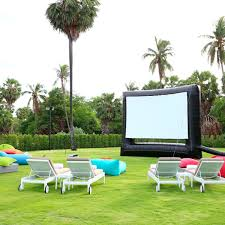 what you need for a diy backyard movie theater real movies
