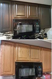 How To Gel Stain Cabinets by General Finishes Jq Gel Stain 1 Quart Java Water Based