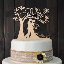 cake topers groom wood cake topper mr mrs tree cake topper wedding cake