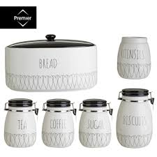 white kitchen canisters sets pottery canister sets farmhouse kitchen canisters white canister