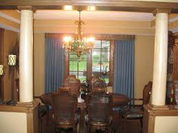 formal dining room custom drapery other home updates traditional