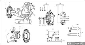 t 19 steering column u0026 mudguard scooter spare parts in the
