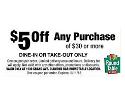 round table grand ave localflavor com round table pizza 10 for 20 worth of casual