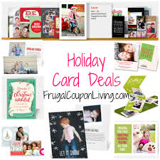 christmas card deals deals on photo christmas cards chelseas kitchen coupon