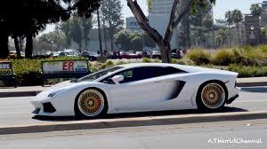 lamborghini aventador wheels what are those lamborghini aventador on gold hre rims sound