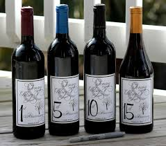 wine bottle wedding guest book best 25 wedding wine labels ideas on personalized