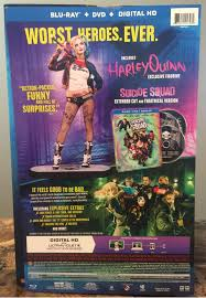 amazon exclusive harley quinn squad blu ray combo pack