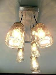 mason jar lights lowes mason jar chandelier lowes academiapaper com