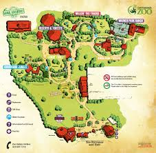 Chattanooga Tennessee Map by Chattanooga Zoo Map