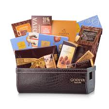 high end gift baskets godiva truffle will fall for this luxurious gift
