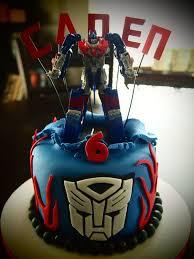 optimus prime birthday optimus prime transformer birthday cake by olive