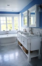 Cottage Bathroom Vanities by Bath Photos Bathroom Powder Room Blue Cottage Bathroom Vanity Tsc