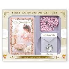 communion gifts holy communion gift set girl missionaries of the sacred heart