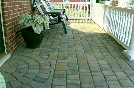 Make Your Own Patio Pavers Front Porch Paver Ideas Front Porch With Hanover Pavers And