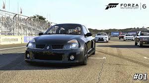 renault usa forza motorsport 6 renault sport clio v6