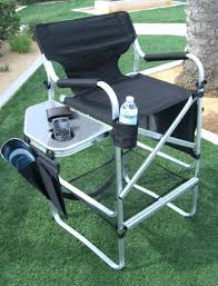 Folding Directors Chair With Side Table Decorating Fantastic Folding Director Chairs With Side Table