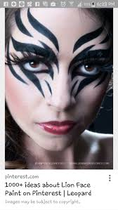 leopard halloween makeup ideas 41 best face painting images on pinterest face paintings make