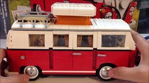 volkswagen camper trailer lego 10220 volkswagen t1 camper van 1960 u0027s vw bus youtube