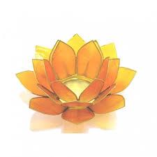 Lotus Flower Tea - lotus flower candle holder set u0026 stand chakra gift set