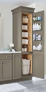 outstanding bathroom cabinet sink shelves depth white stripes wall