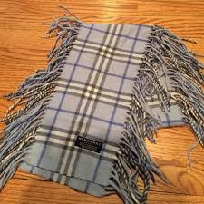 light blue burberry scarf burberry accessories fringe scarf poshmark