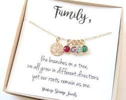 children s birthstone necklace birthstone jewelry etsy