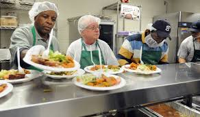 opportunities to volunteer at the holidays are plentiful