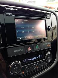 2015 mitsubishi outlander interior 2015 mitsubishi outlander review